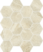 Sunlight Stone Beige Mozaika Hexagon 22x25,5