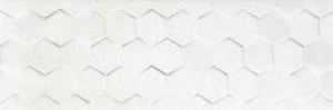Dalmacia White Hexagon 25x75